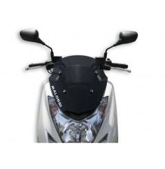 Bulle Sport Fumée Scooter Malossi pour Mbk et Yamaha  Majesty 125 S ie (14-16)