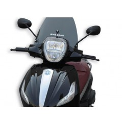 Bulle Sport Fumée Scooter Malossi pour Piaggio Beverly Ie 300 - Sport Touring 350