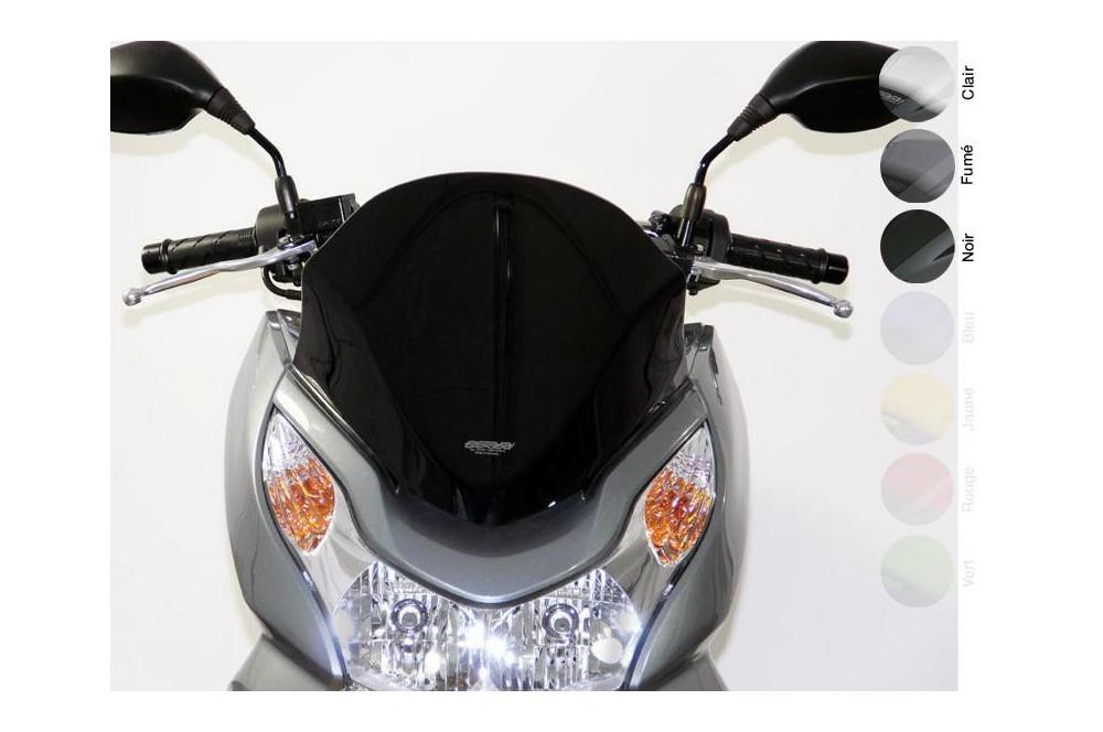 Bulle Sport Noire Scooter MRA pour Honda PCX 125 09-15