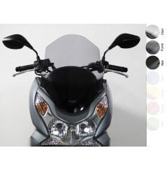 Bulle Touring Noire Scooter MRA pour Honda PCX 125 (09-16)
