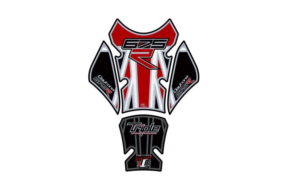 Protection de réservoir moto pour TRIUMPH 675 R