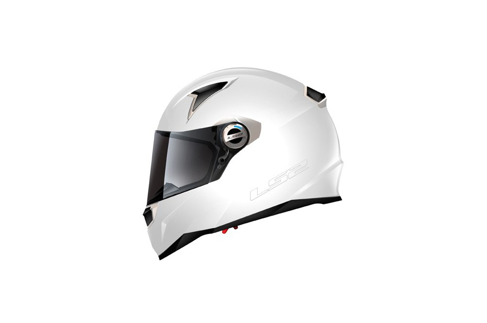 CASQUE LS2 FF396.3 FT2 BLANC SINGLE MONO