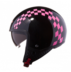 CASQUE LS2 OF561 DINOCO GLOSS PINK