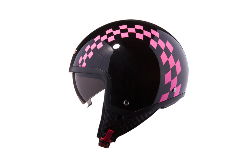CASQUE LS2 OF561 DINOCO GLOSS PINK M
