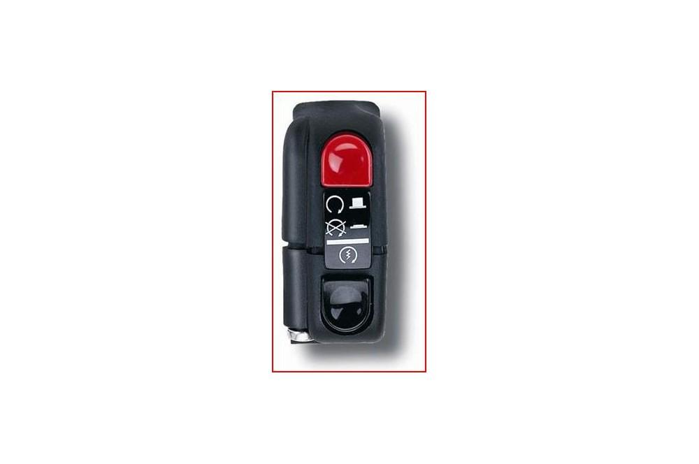 Commodo Electrique Domino Droit Moto 2 Fonctions