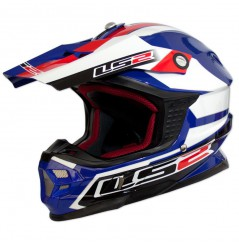 CASQUE LS2 MX456 TUAREG White-blue