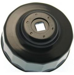 Clé a Filtre Moto Ø 76 mm 14 pans