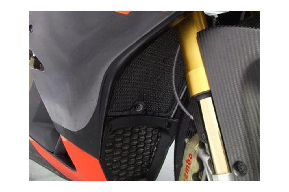 Protection De Radiateur R&G pour RSV4 1000 de 09-14