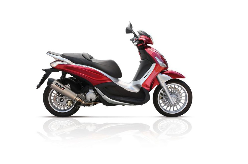 Echappement Scooter Yasuni Scooter 4 pour Sportcity 125 - Beverly 125