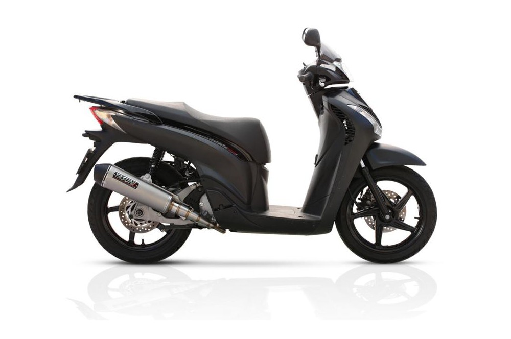 echappement scooter yasuni scooter 4 pour honda sh 125 street moto piece. Black Bedroom Furniture Sets. Home Design Ideas