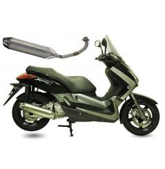 Echappement Scooter CRD Street Wave 2 pour Skycruiser - X-Max - X-City 250 - Kilibre 300 - Versity 300