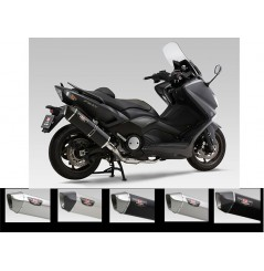 Echappement Scooter Yoshimura HEPTA Force Carbone - Magic pour T-Max 530