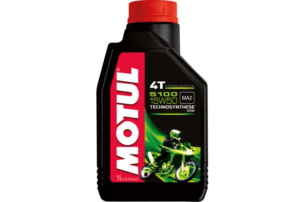 Huile Moto Motul 5100 4T 15W50 1 Litre