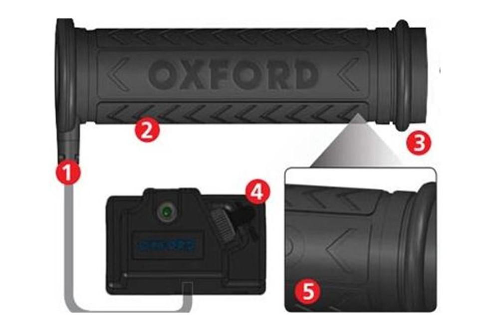 Poignées Chauffantes Quad Hot Grips ATV Oxford