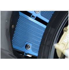 Protection de Radiateur D'huile Bleu R&G pour BMW S1000RR (10-16)