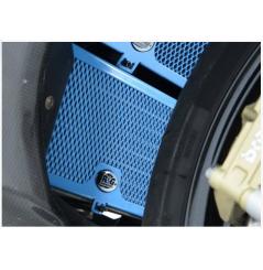 Protection de Radiateur D'huile Bleu R&G pour BMW S1000RR (10-16)