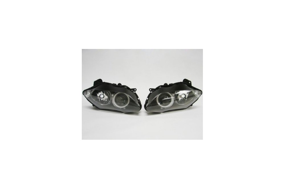 Optique Avant Type Origine Moto pour Yamaha YZF R1 07-08