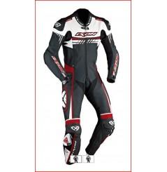 Combinaison Racing IXON MIRAGE Blanc / Noir / Rouge