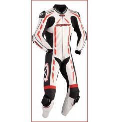 Combinaison Racing IXON PULSAR AIR Rouge / Noir / Blanc