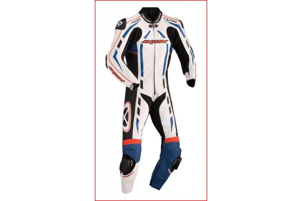 Combinaison Racing IXON PULSAR AIR Bleu / Rouge / Noir / Blanc