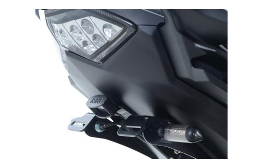 Support De Plaque Noir R&G Versys 650 de 2015