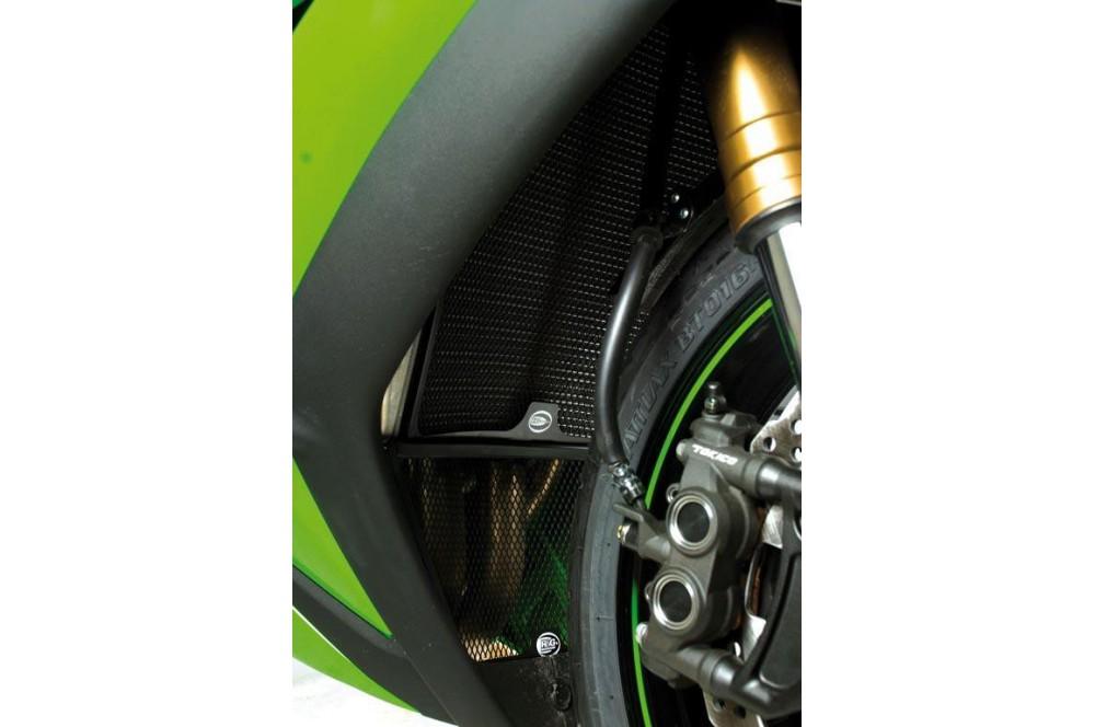 Protection de Radiateur R&G pour ZX10R 08-15