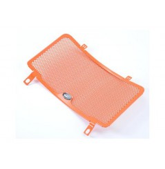 Protection de Radiateur Orange R&G pour Duke 125 (11-16)