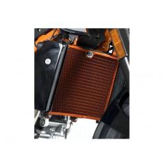 Protection de Radiateur Orange R&G pour Duke 690 et R (12-16)