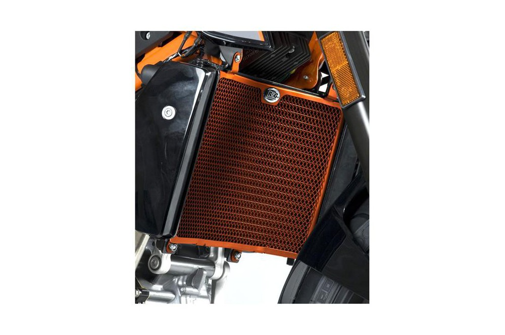 Protection de Radiateur Orange R&G pour Duke 690 et R 12-15