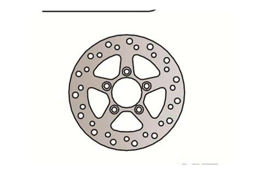 Disque de frein Fixe Avant Droit NG Brake pour Kymco Dink - Grand Dink 250