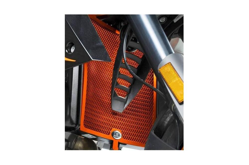 Protection de Radiateur Orange R&G pour Super Duke 990 et R 04-12