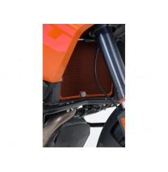 Protection de Radiateur Moto Orange R&G pour KTM 1190 Adventure (13-16)
