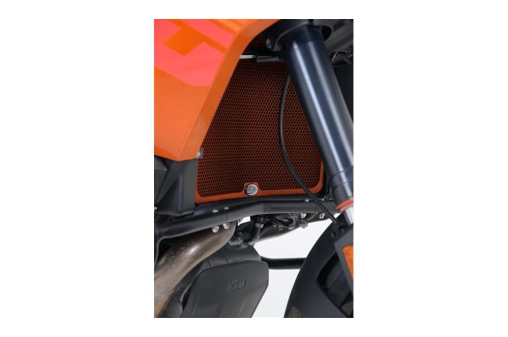 Protection de Radiateur Orange R&G pour KTM 1190 Adventure 13-14