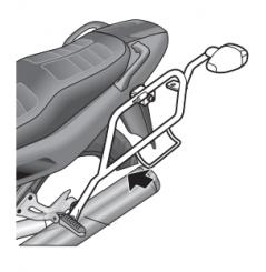 Support Valises Latérales Shad pour XJ900 Diversion (94-03)