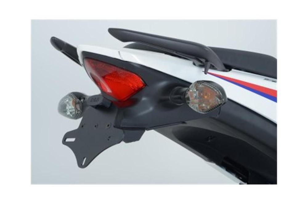 Support De Plaque Noir R&G pour CB500R, CB500F et CB500X 13-15