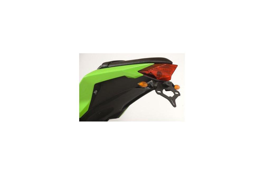 Support De Plaque Noir R&G pour Ninja 300 13-15