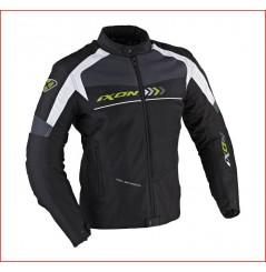 Blouson Moto Ixon ALLOY Noir - Blanc - Vert