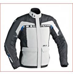 Veste Moto Ixon CORSICA Noir - Gris - Bleu