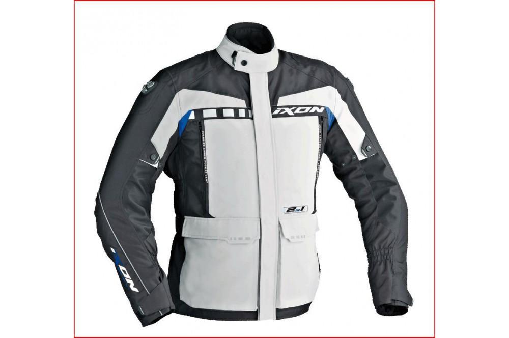 Veste Technic Ixon Corsica Noir - Gris - Bleu