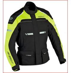 Veste Moto Ixon FJORD Noir - Jaune