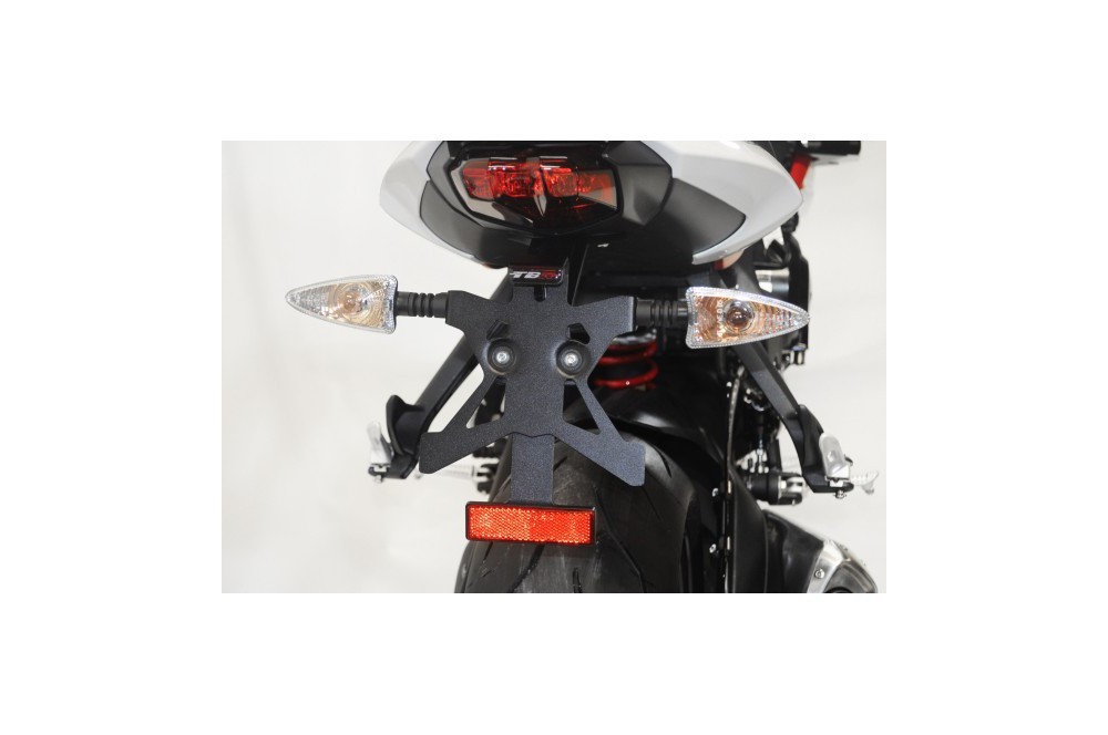 Support de plaque Top Block pour Street Triple 675 13-15