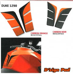 Protection de réservoir D'Zign Pad Carbon pour KTM SuperDuke 1290 (14-16)