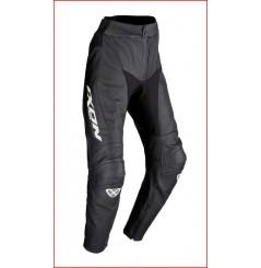 Pantalon Cuir Ixon Fueller Pant Noir - Blanc