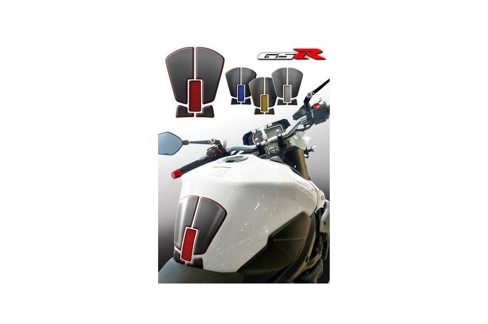 Protection de réservoir D'Zign Pad Carbon pour Suzuki GSR 750 11-15