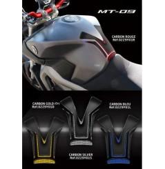 Protection de réservoir D'Zign Pad Carbon pour Yamaha MT 09 (14-16)