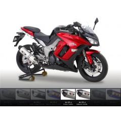 Silencieux moto Yoshimura R77 J pour Z1000 et SX (10-13)