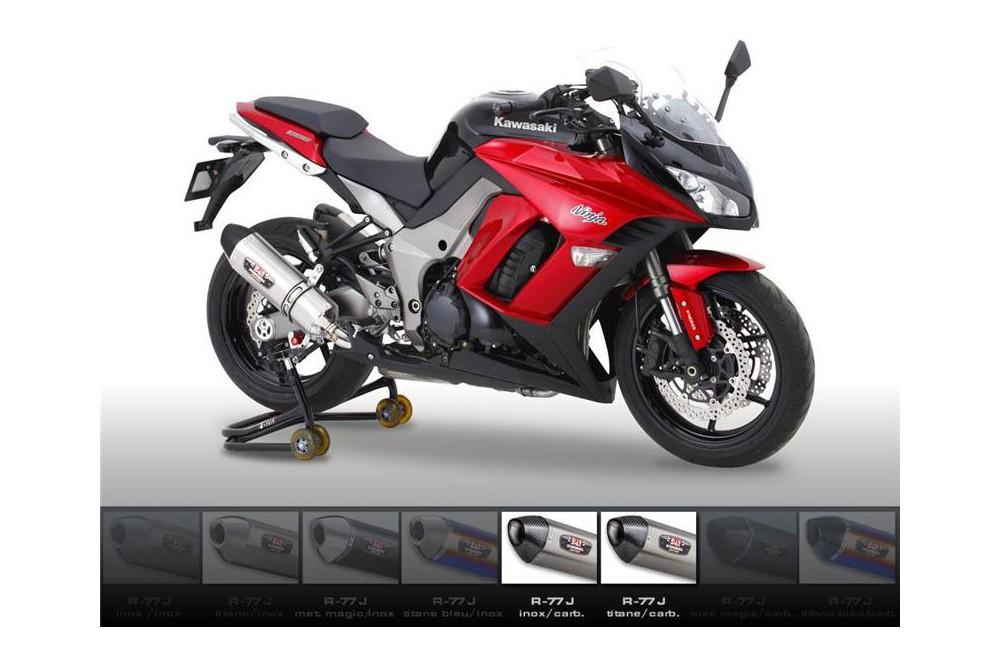 Silencieux moto Yoshimura R77 J pour Z1000 et SX 10-13