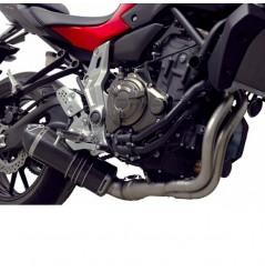Ligne Moto Termignoni Sil. Carbone pour MT-07 (14-16)