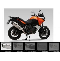Silencieux moto Yoshimura HeptaForce pour KTM 1190 Adventure (13-16)