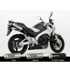 Silencieux moto Yoshimura Tri-Oval pour GSR600 06-10